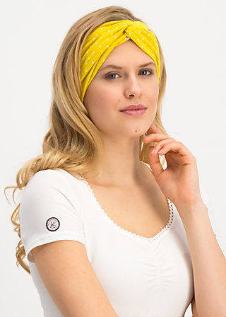 goodhairday wrap, fly over alpine, Accessoires, Gelb