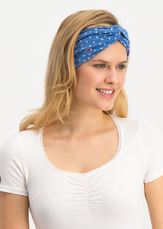 goodhairday wrap, fly over forest , Accessoires, Blau
