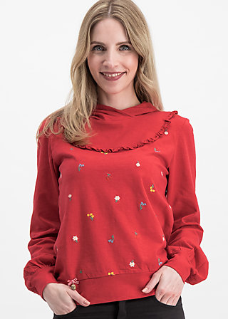 holdrio hüttenhoody, red meadow, Jumpers & lightweight Jackets, Red