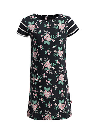 Girls' Dress is ja ne wolke, foxy flower , Dresses, Black