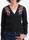 piroschka bouquet cardy, folklore love, Jumpers & lightweight Jackets, Black