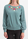 piroschka garden pulli, alpine love, Jumpers & lightweight Jackets, Turquoise