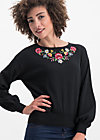 piroschka garden pulli, folklore love, Jumpers & lightweight Jackets, Black