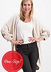 piroschka romance cloak, dove love, Pullover & leichte Jacken, Weiß