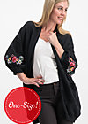 piroschka romance cloak, folklore love, Jumpers & lightweight Jackets, Black