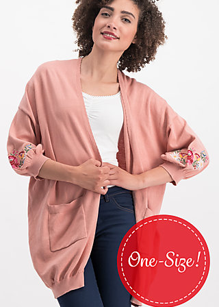piroschka romance cloak, fox love, Jumpers & lightweight Jackets, Braun