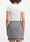 pleats please skirt, black forest vichy, Skirts, Black