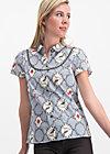 poupette blusette, forester birdlove , Blusen & Tuniken, Blau