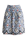 ring my heartbells skirt, forester birdlove , Röcke, Blau