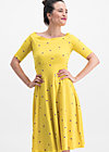 roswitas dolcevita dress, fly over alpine, Dresses, Yellow
