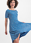 roswitas dolcevita dress, fly over forest , Kleider, Blau
