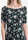 roswitas dolcevita dress, foxy flower , Dresses, Black