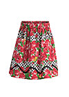 sallys sweet skirt, roses of black forest , Röcke, Rot
