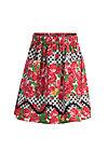 sallys sweet skirt, roses of black forest , Skirts, Red