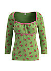 schützenliesl longsie, valley rose, Shirts, Green