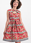 schwarzwaldmädel robe, roses of black forest , Dresses, Red