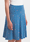 sei vogelfrei skirt , fly over forest , Skirts, Blue