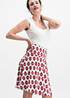 sei vogelfrei skirt , folksy lady flies, Skirts, White