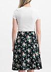sei vogelfrei skirt , foxy flower , Skirts, Black