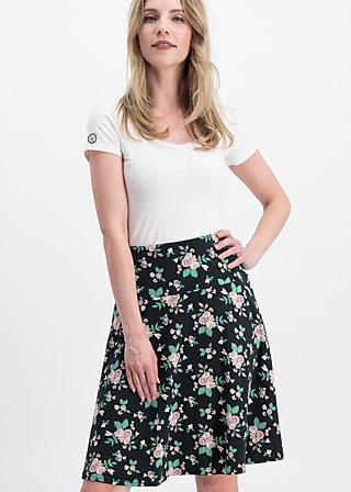 sei vogelfrei skirt , foxy flower , Röcke, Schwarz