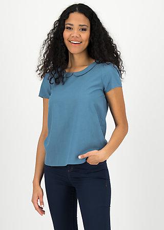 slip sloup blouse, blue smoke eyes, Blouses & Tunics, Blue