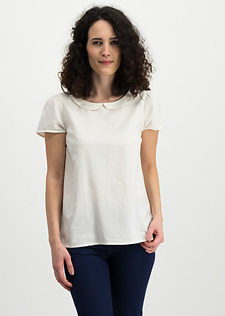 slip sloup blouse, white foxtrot, Blouses & Tunics, White