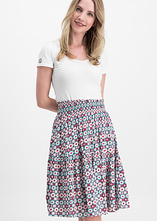 wanderwirbel skirt, alpine star, Skirts, Blau