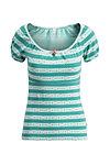 waschtisch romance shirt, follow the fox , Shirts, Turquoise