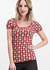 waschtisch romance shirt, mariandls charlet , Shirts, Rot