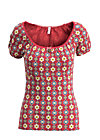 waschtisch romance shirt, mariandls charlet , Shirts, Red
