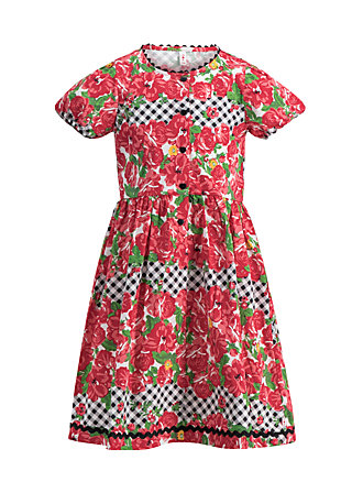 zauberzopf dirndl, roses of black forest , Dresses, Red