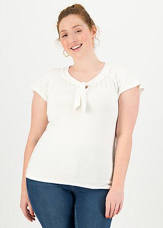 Jersey Shirt carmelita, clean white, Shirts, Weiß