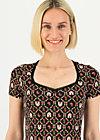 Jersey T-Shirt cottage wonderland, cottage chicken love, Shirts, Schwarz