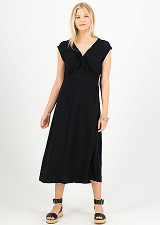 Midi Dress kap knot diva, black to nineties, Dresses, Black