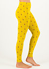 Leggings do it my way, après ski, Leggings, Yellow
