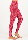 Leggings do it my way, perfect in every way, Leggings, Red