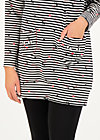 fall and friends long sweater, spin the stripes, Pullover & leichte Jacken, Schwarz