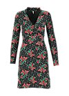 Jersey Dress fast and frosty, wild romance, Dresses, Green