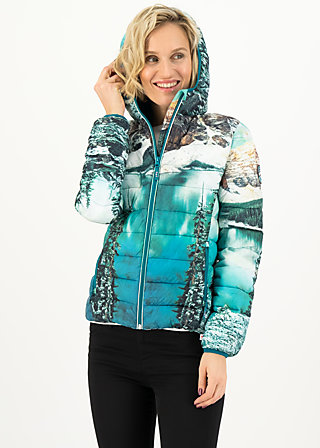 four seasons digi jacket, hike to the mountains, Jackets & Coats, Blue