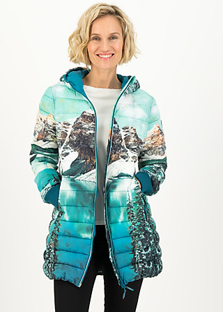 four seasons digi longjacket, hike to the mountains, Jacken & Mäntel, Blau
