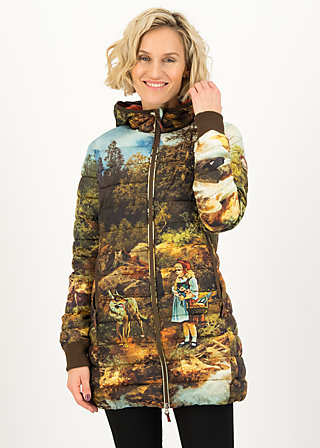Steppjacke four seasons, little fairy tale, Jacken & Mäntel, Braun