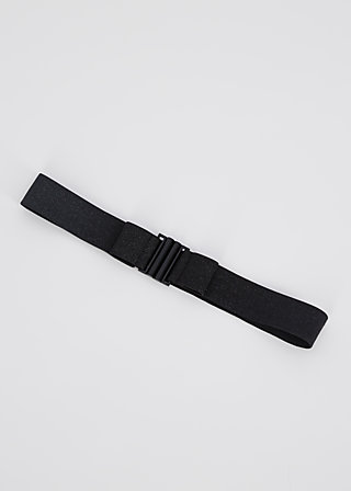 glitter friends elastic belt, black sparkle, Accessoires, Black