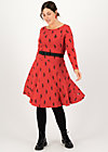 Jersey Dress gone with the wind, kitties lover, Dresses, Red