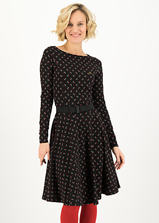 Jerseykleid gone with the wind, lady like, Kleider, Schwarz