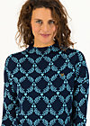 long turtle, frosty laurel, Jumpers & Hoodies & Sweater & Knitted Jumpers, Blue