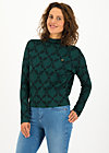 long turtle, teal laurel, Pullover & leichte Jacken, Grün