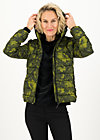 Quilted Jacket luft und liebe, bunch of flowers, Jackets & Coats, Green
