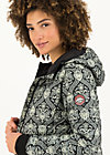 Quilted Jacket luft und liebe, damask rose, Jackets & Coats, Black