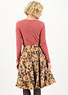 Circle Skirt magic circle, i pack my back, Skirts, Brown