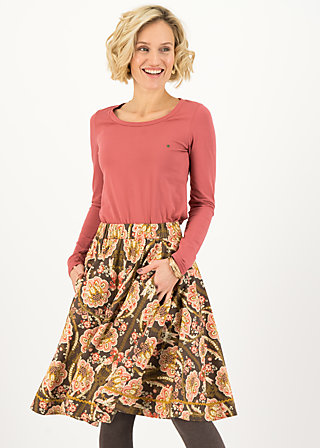 Circle Skirt magic circle, i pack my back, Skirts, Brown